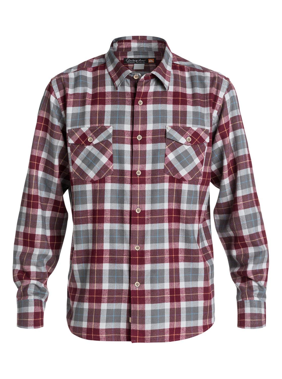 Zinc shirt design - 0 Men S Wade Creek Long Sleeve Flannel Shirt Aqmwt03102 Quiksilver