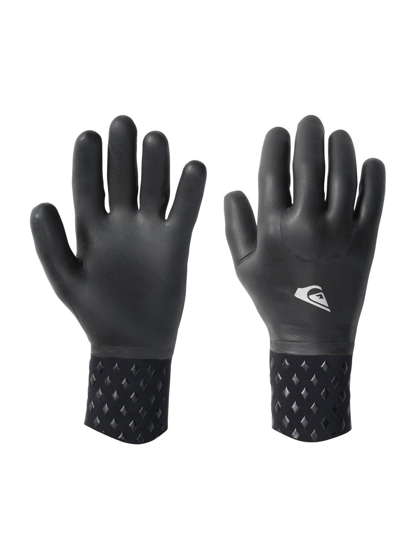Neo Goo 2mm  Wetsuit GlovesМужские перчатки Neo Goo 2 мм 5 Finger от Quiksilver. <br>ХАРАКТЕРИСТИКИ: крой – пятипалая ладошка, молния – есть, толщина – 2 мм, полностью покрыты жидким неопреном – никаких протечек, плетеная поддерживающая структура. <br>СОСТАВ: 100% нейлон/полиамид.<br>