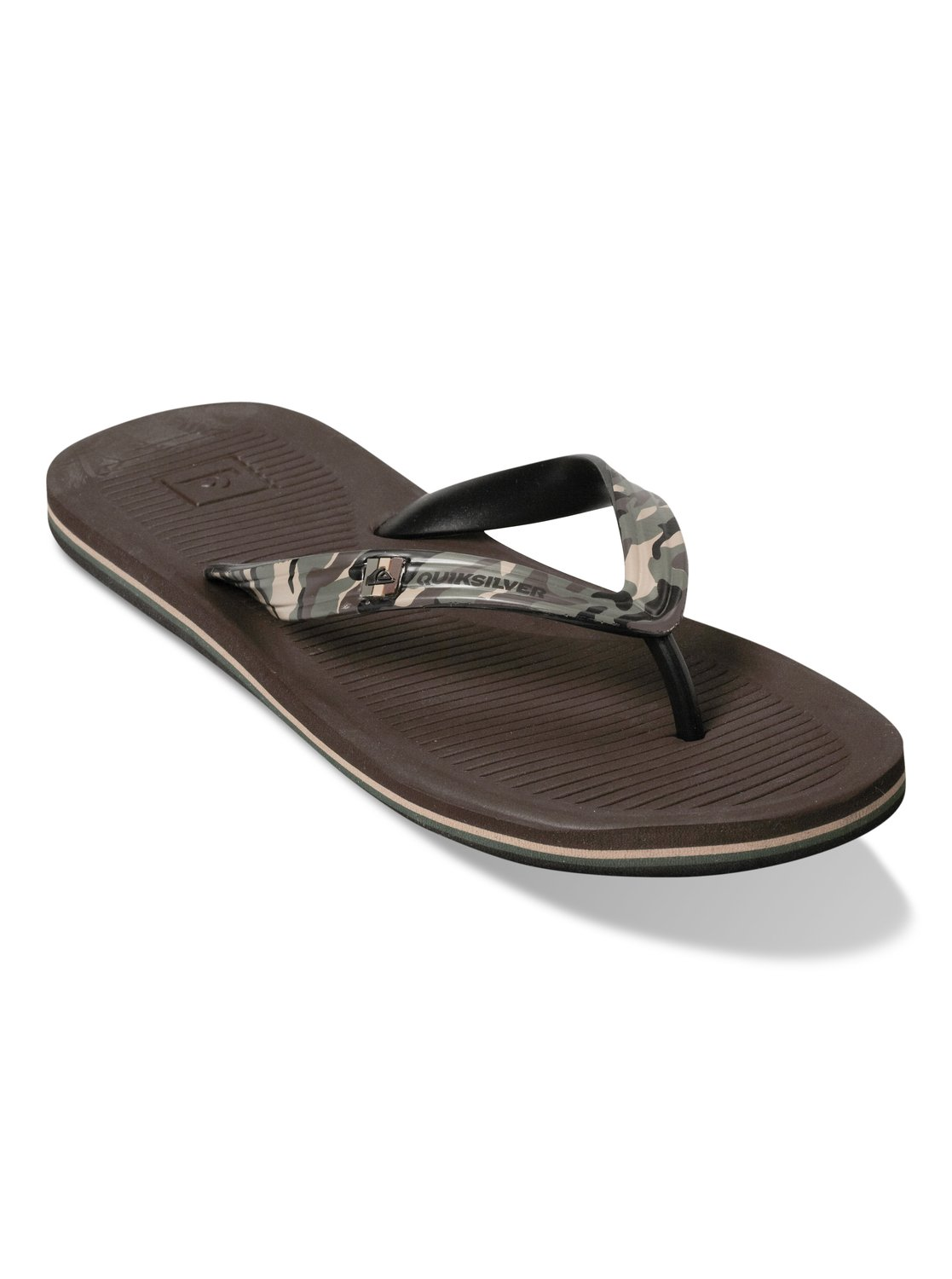 Quiksilver Haleiwa Print Sandals for Men Blue