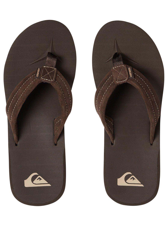 Carver Suede Sandals Aqyl100030 Quiksilver