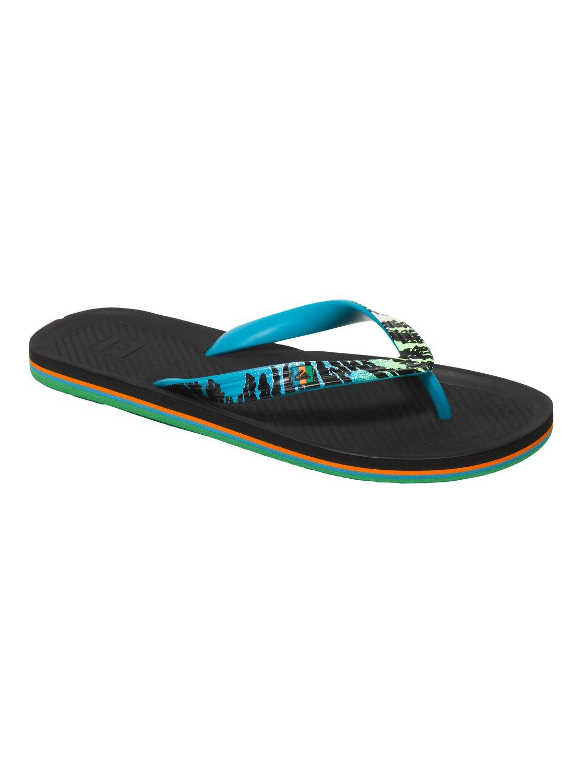 Quiksilver Haleiwa - Flip-Flops - Chanclas - Hombre - EU 40 - Negro u9zfGJ9a