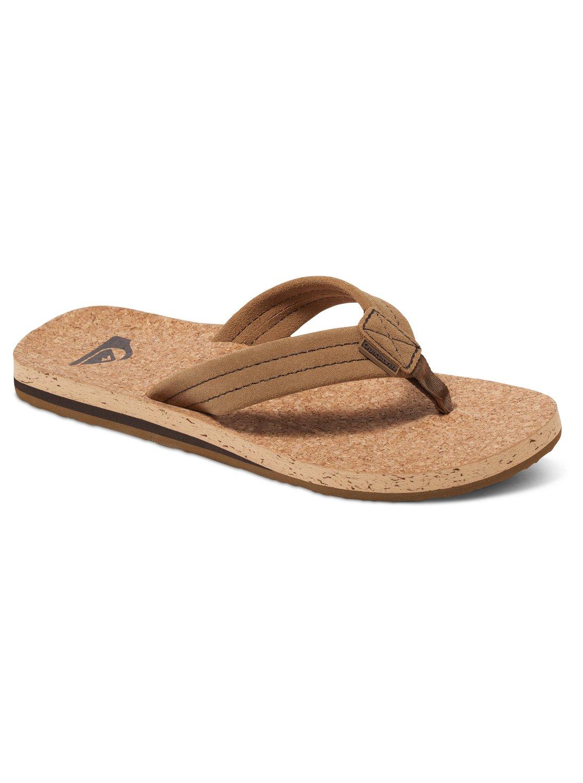 Carver Cork - Suede Sandals
