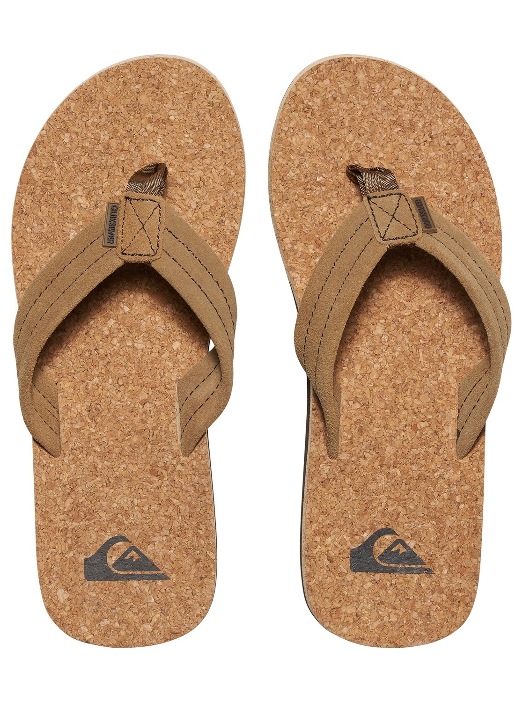 Carver Cork Sandals Aqyl100406 Quiksilver