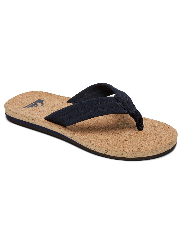 Carver Cork Sandals Blue AQYL100597 Quiksilver