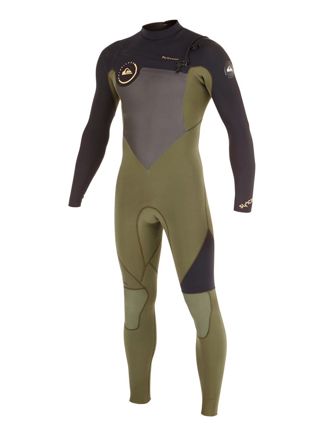 syncro gbs 3  2mm chest zip wetsuit aqyw103037