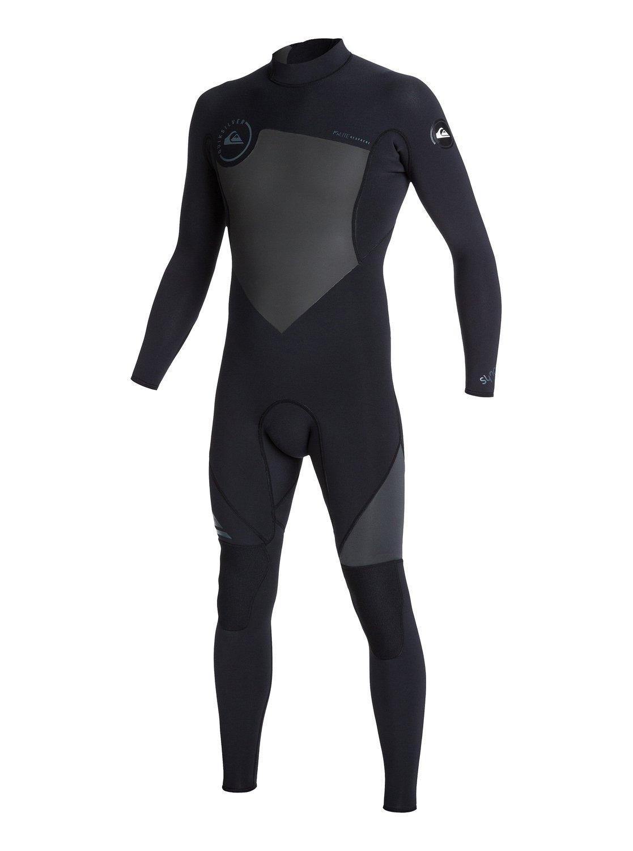 Syncro Flatlock 3/2mm Back Zip Wetsuit