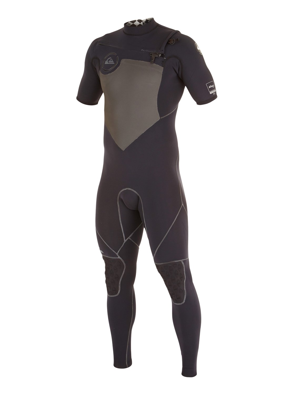 AG47 Performance 2/2mm  Chest Zip Short Sleeve Wetsuit