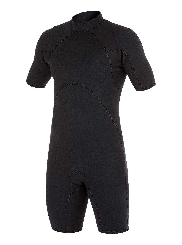 Короткий мужской гидрокостюм с коротким рукавом и спинной молнией Syncro Base 2/2mm