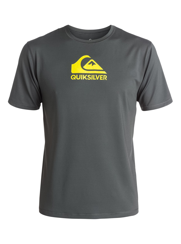 Solid streak short sleeve t shirt rash guard for What is a rash shirt