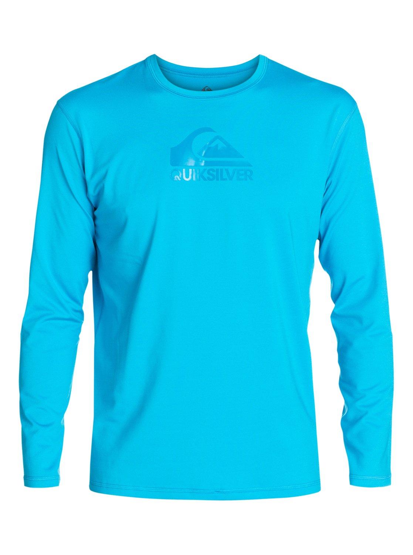 Solid streak t shirt rash guard a maniche lunghe for What is a rash shirt