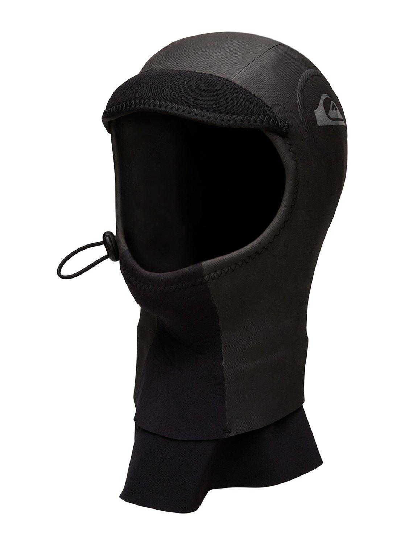 Mens Cypher GBS 2mm  Wetsuit HoodМужской серфовый капюшон Cypher 2 мм Hood with Dickie от Quiksilver. <br>ХАРАКТЕРИСТИКИ: молния – нет (натягивается через голову), крой – капюшон с защитным козырьком, толщина – 2 мм, глухие швы GBS тройной проклейки предотвращают протекание гидрокостюма и помогают сохранить тепло. <br>СОСТАВ: 100% нейлон/полиамид.<br>