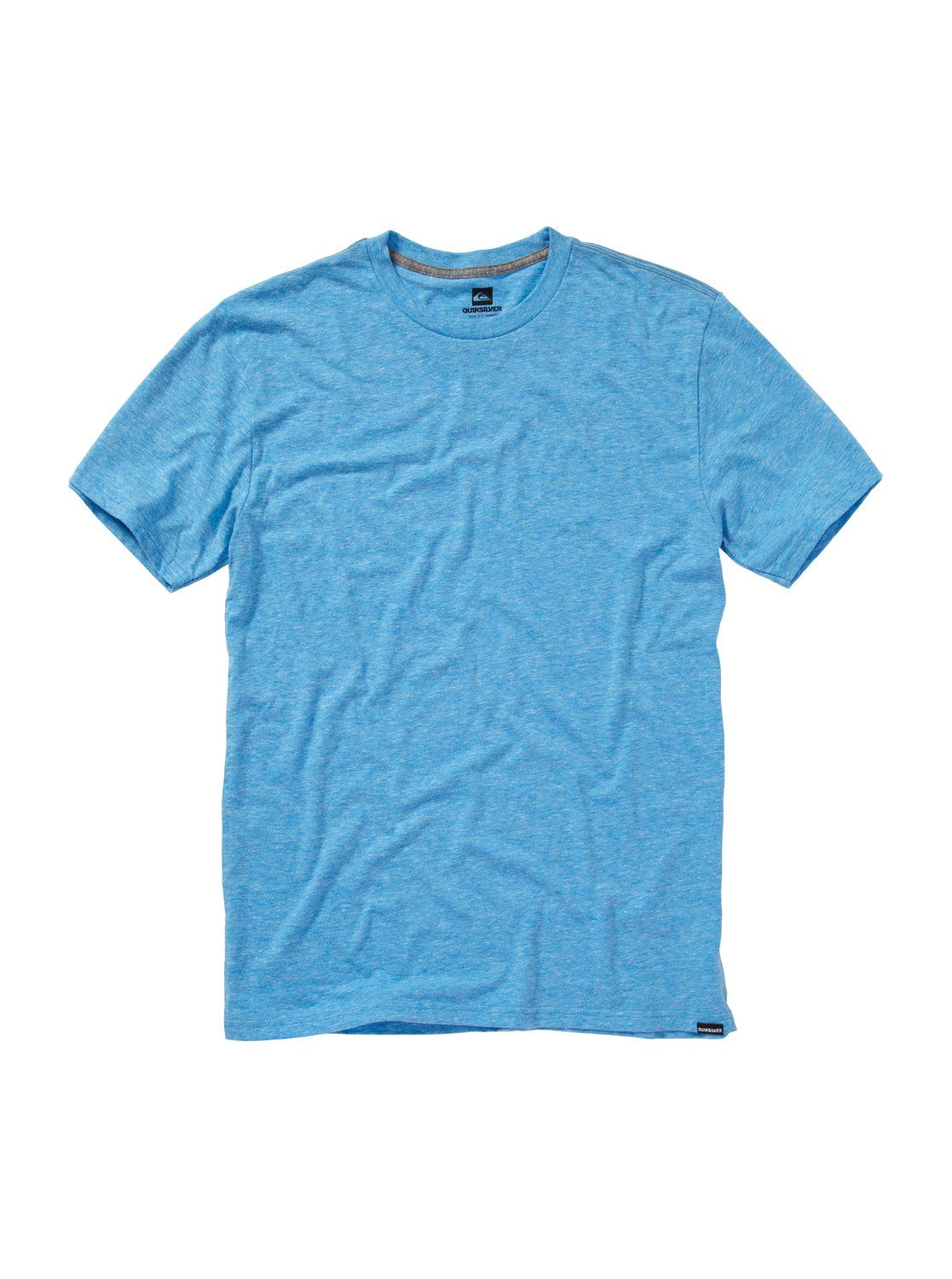 Quiksilver plain black t shirt - 0 Blank Premium Heather Slim Fit T Shirt Aqyzt00437 Quiksilver