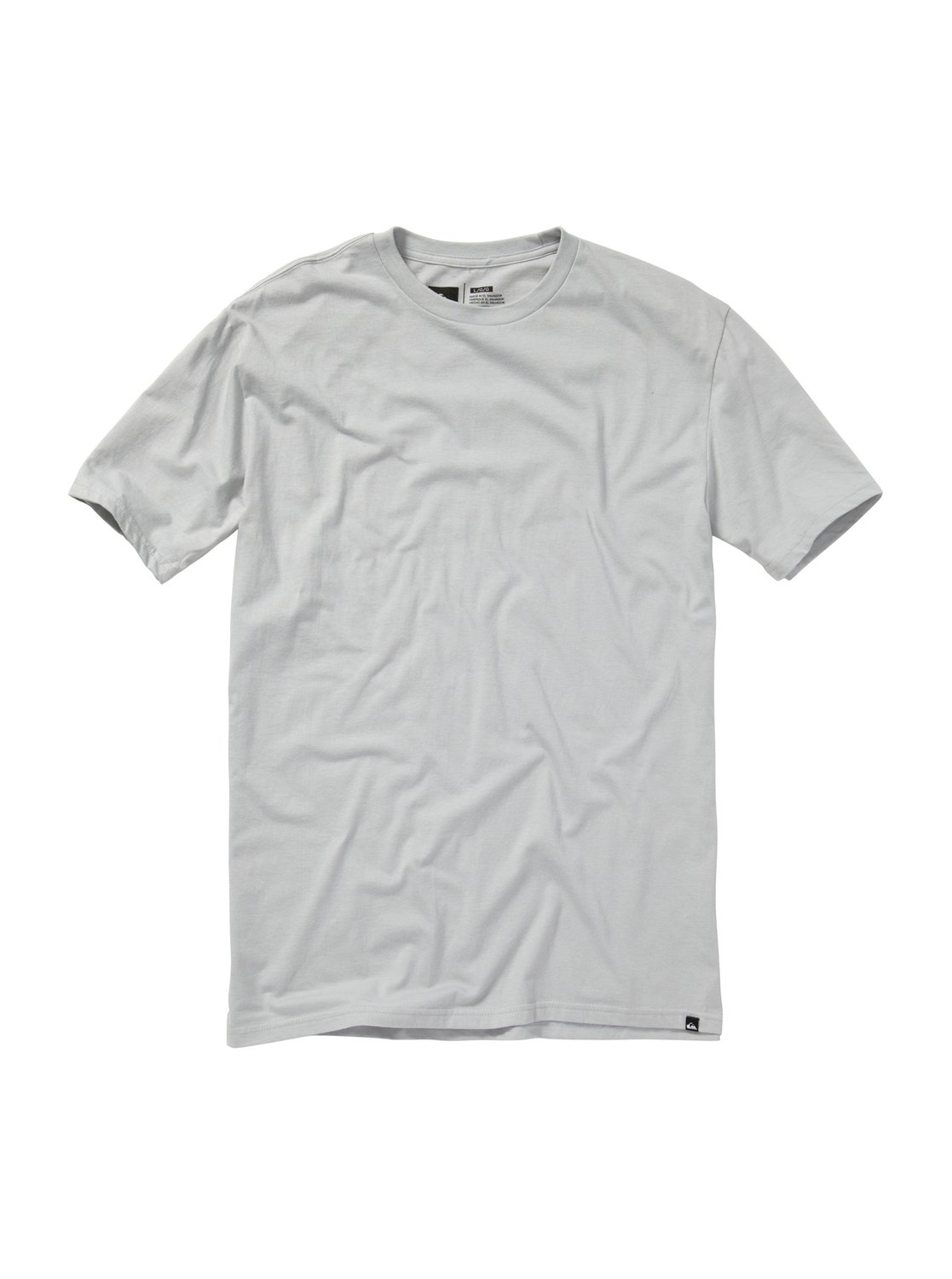 Quiksilver plain black t shirt - 0 Everday Solid Slim Fit T Shirt Aqyzt01121 Quiksilver