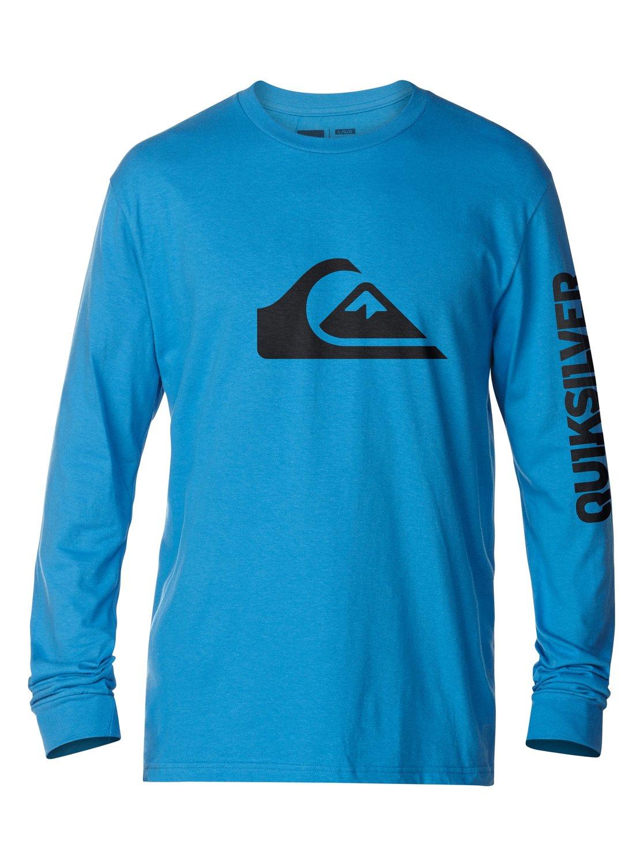 Mountain wave long sleeve t shirt aqyzt03077 quiksilver for Mountain long sleeve t shirts