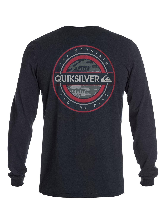 Cool racer long sleeve t shirt aqyzt03216 quiksilver for Cool long sleeve t shirts
