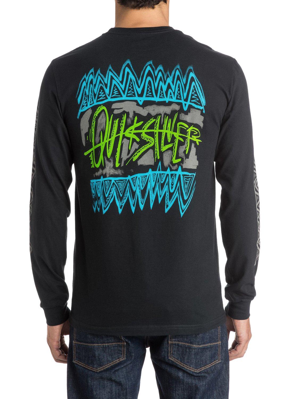 Neon Chaos Long Sleeve T-Shirt AQYZT03716 | Quiksilver