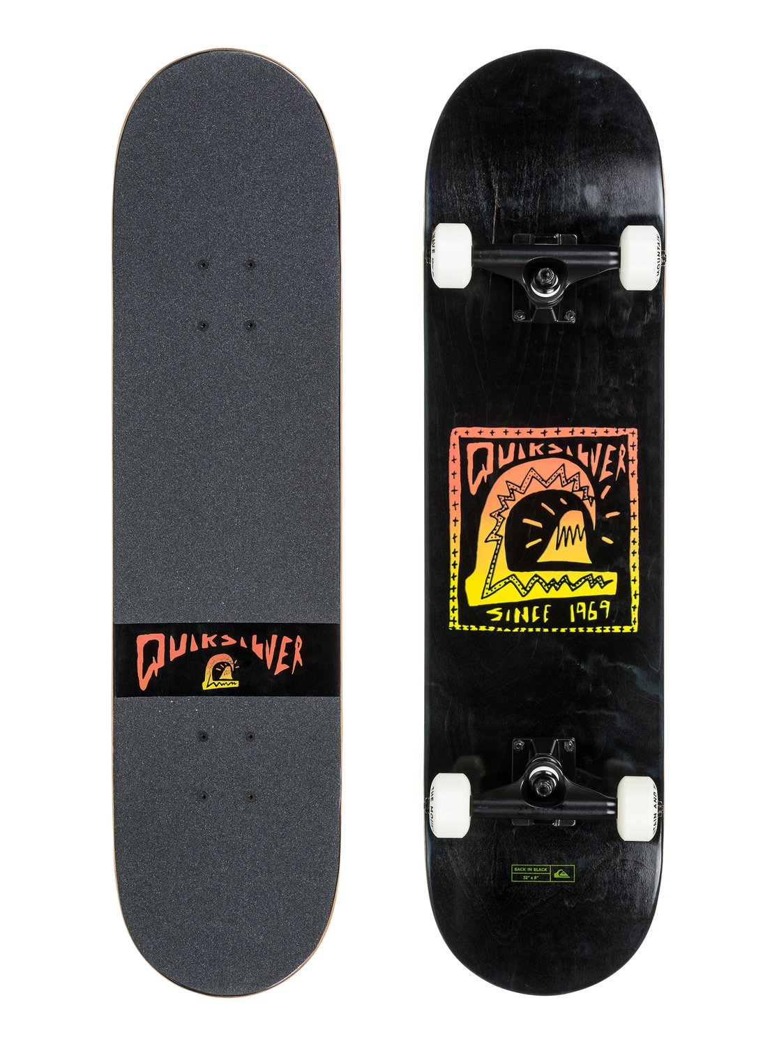 ????????? Back in black 8 - quiksilver