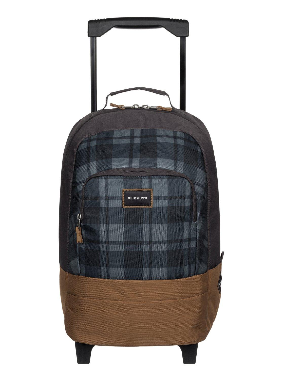 hallpass sac dos roulettes eqbbp03022 quiksilver. Black Bedroom Furniture Sets. Home Design Ideas
