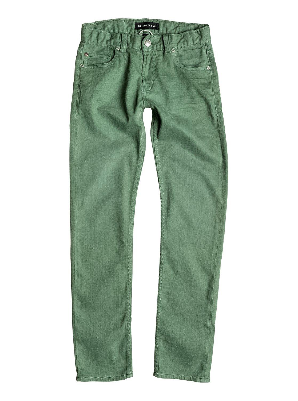 c8233517b11 0 Distorsion Colors - Slim Fit Jeans Green EQBDP03098 Quiksilver