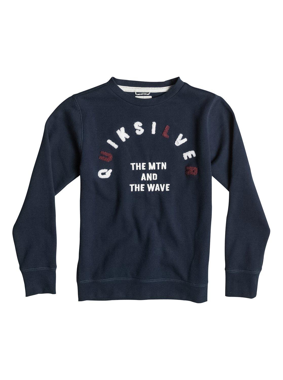 Holman CrewФлисовый пуловер для мальчиков Holman Crew от Quiksilver. Характеристики: с круглым вырезом, полусинтетика из хлопка и полиэстера, ткань стандартной плотности – 260 г/кв. м. <br>СОСТАВ: 80% хлопок, 20% полиэстер.<br>