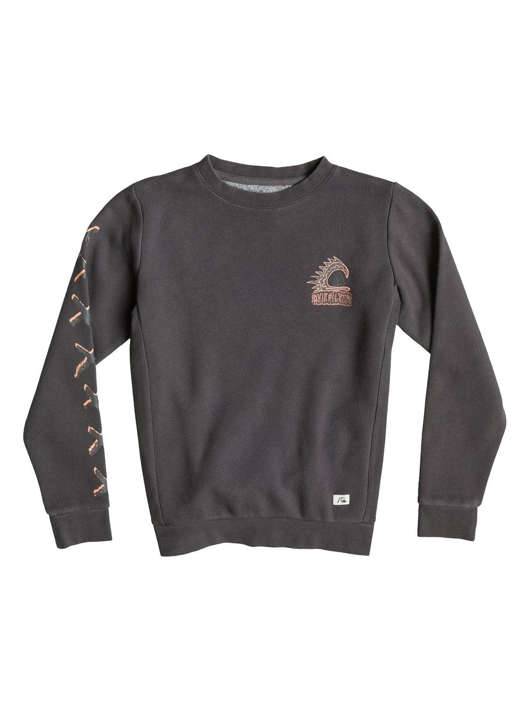 War Paint CrewФлисовый пуловер для мальчиков War Paint Crew от Quiksilver. Характеристики: с круглым вырезом, полусинтетика из хлопка и полиэстера, ткань стандартной плотности – 260 г/кв. м. <br>СОСТАВ: 60% хлопок, 40% полиэстер.<br>