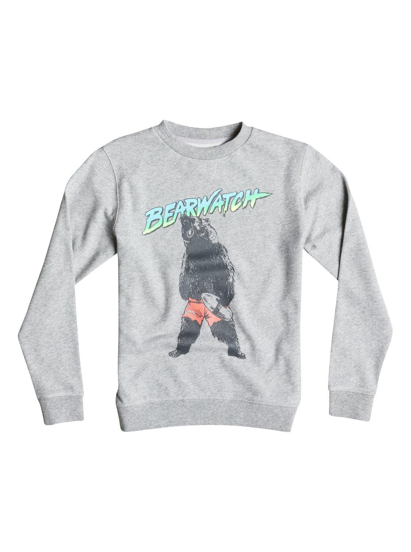 Boy's Crew Bear Watch Sweatshirt от Quiksilver RU