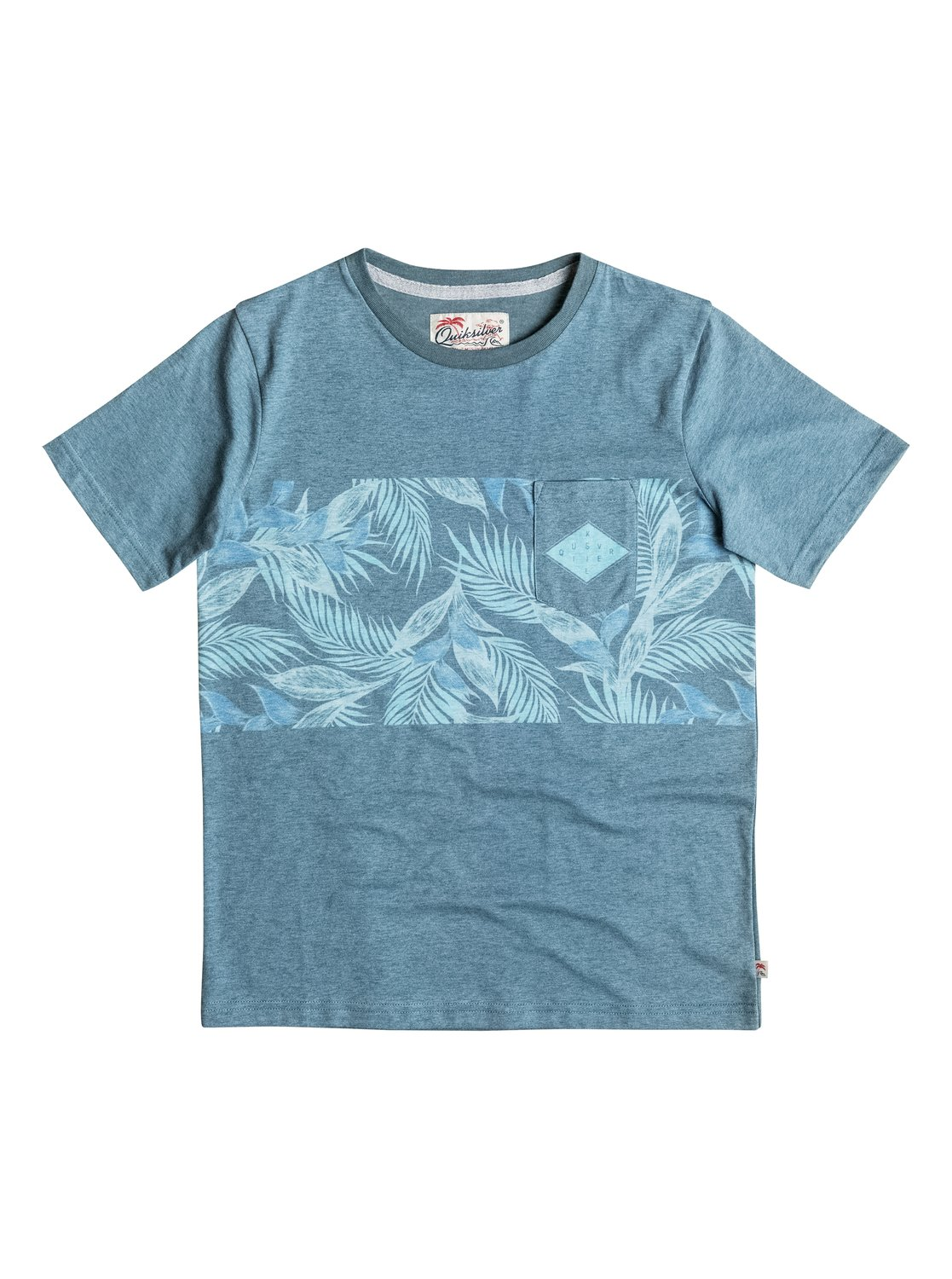 Faded time pocket t shirt eqbkt03124 quiksilver for Faded color t shirts