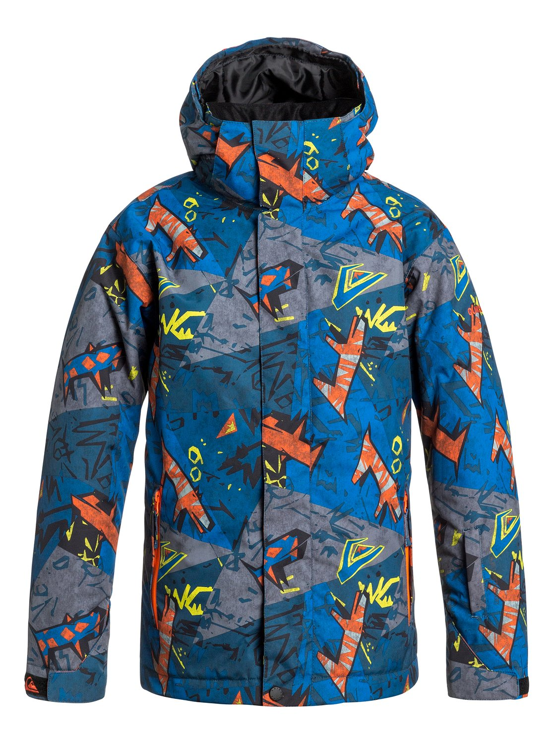 Mission Printed - Quiksilver��������������� ������ Mission Printed ��� ��������� �� ����� ��������������� ��������� Quiksilver. ��������������: ����������� ��� ���������, �������� ������������� �������, ������ ���������� �� ��������� ������� �� ����������, ������ ��� ��������, ������ ��� �����. ������: 100% ���������.<br>