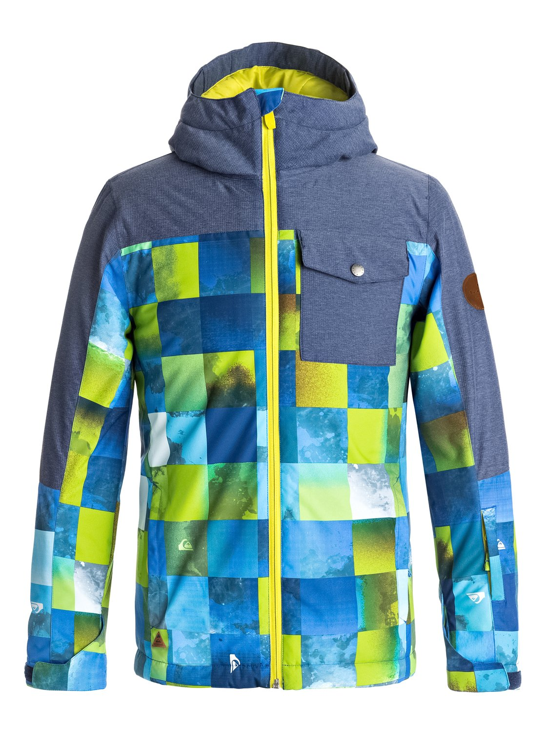 Сноубордическая куртка Mission Block куртка quiksilver mission irishplaid ins jacket irishplaid