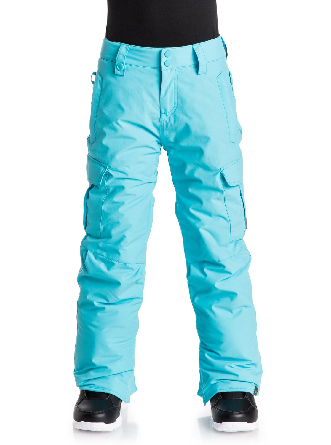 Сноубордические штаны PorterThe Porter snow pants for boys feature our classic regular fit that suits everyone and provides a comfortable, relaxed cut that's not too baggy but leaves space for layering. 10K Quiksilver DryFlight® technology waterproofing provides reliable waterproof and breathable protection and Warmflight® level 2 insulation offers low-bulk warmth.<br>