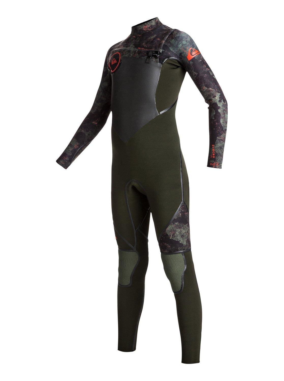 3/2mm Syncro plus chest zip - combinaison de surf intégrale pour garçon - quiksilver