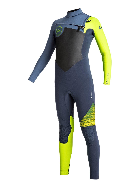 4/3mm Highline chest zip - combinaison de surf intégrale pour garçon - quiksilver