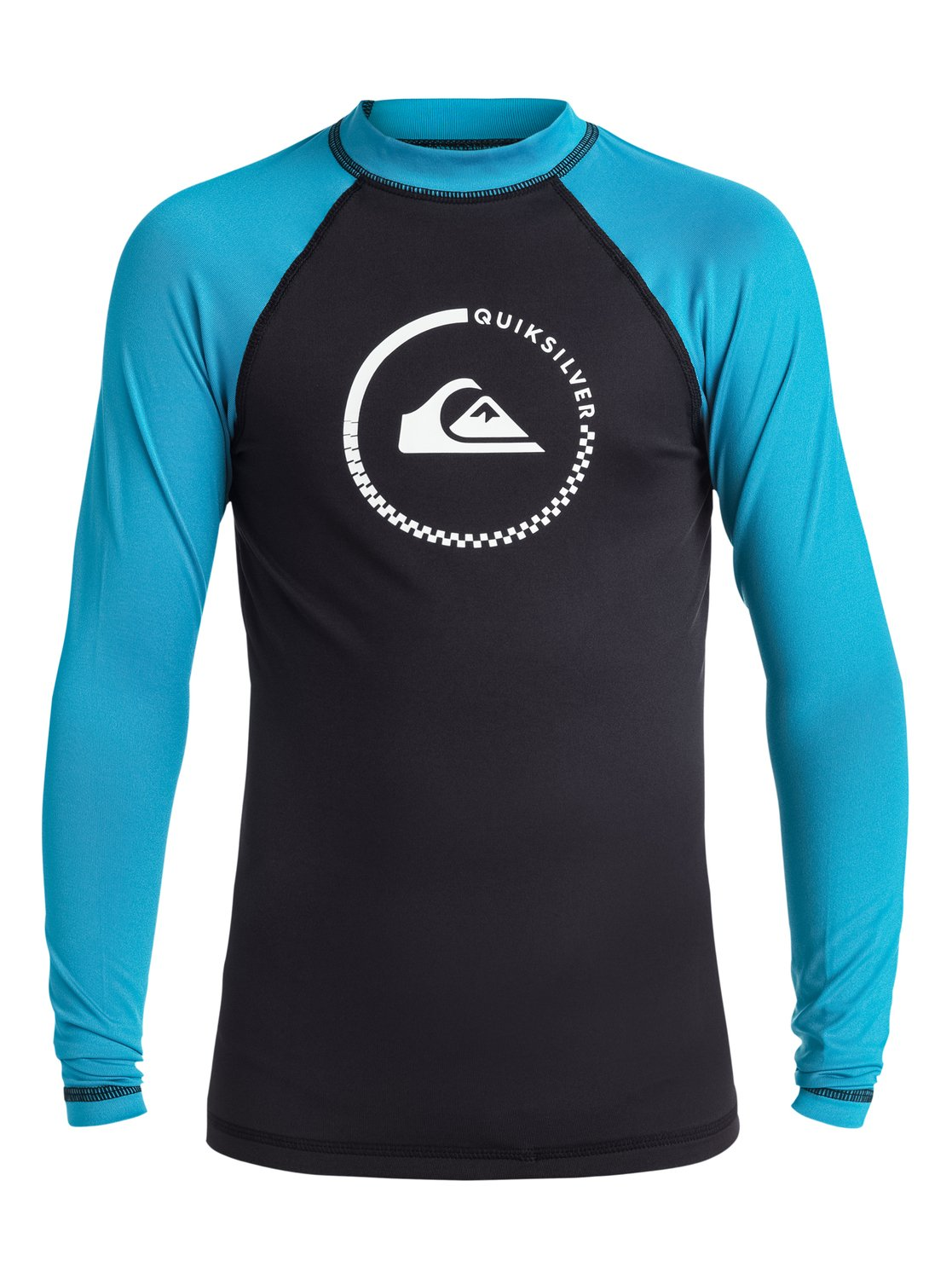 Boy's 8-16 Lock Up Long Sleeve Rashguard от Quiksilver RU