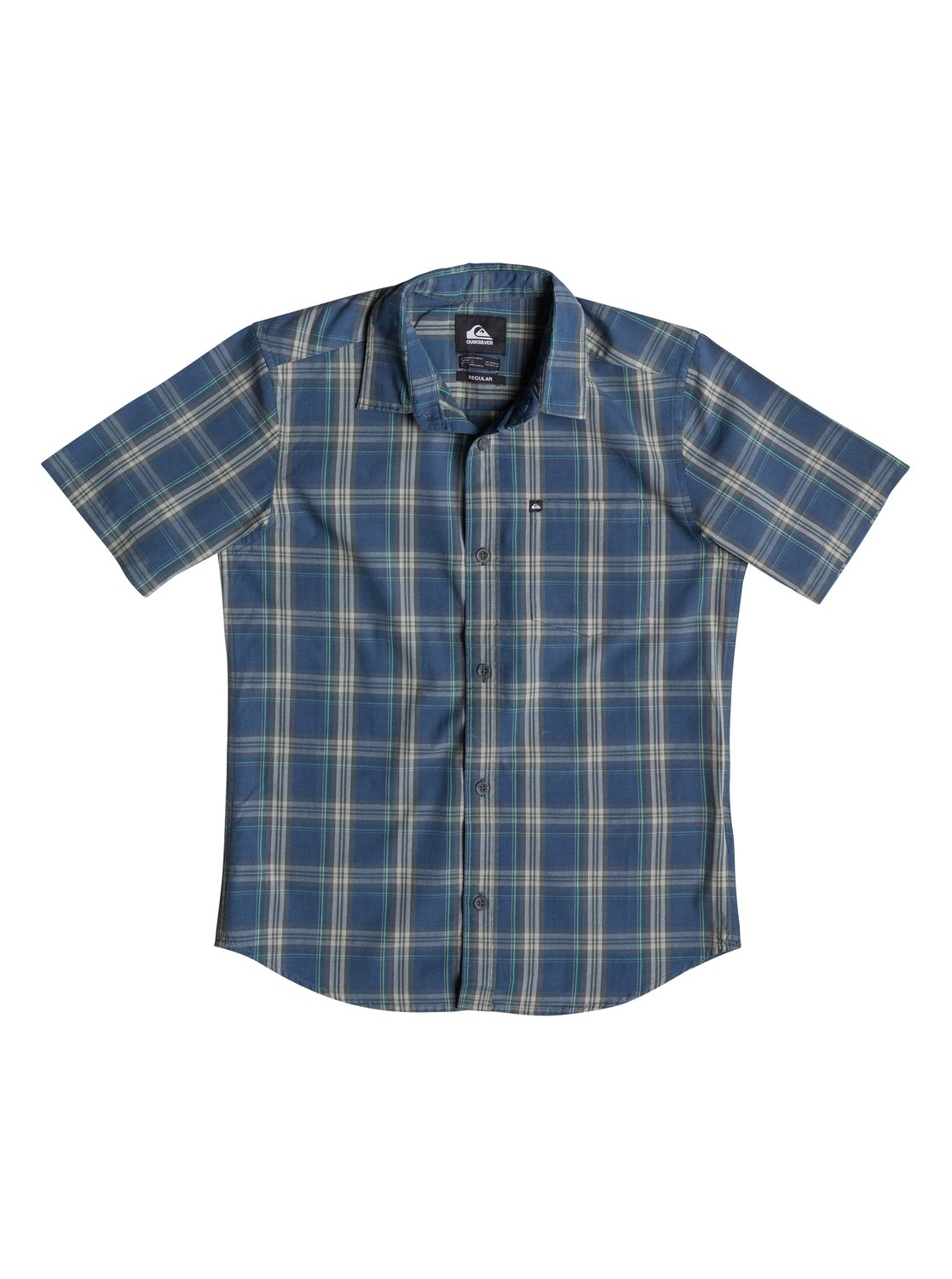 Everyday Check SS Youth - Quiksilver������� � �������� ������� ��� ��������� �� Quiksilver � ������� �� ��������� ����� 2015. ��������������: ����������� ����, ������ �� �������������� ������, � ������.<br>