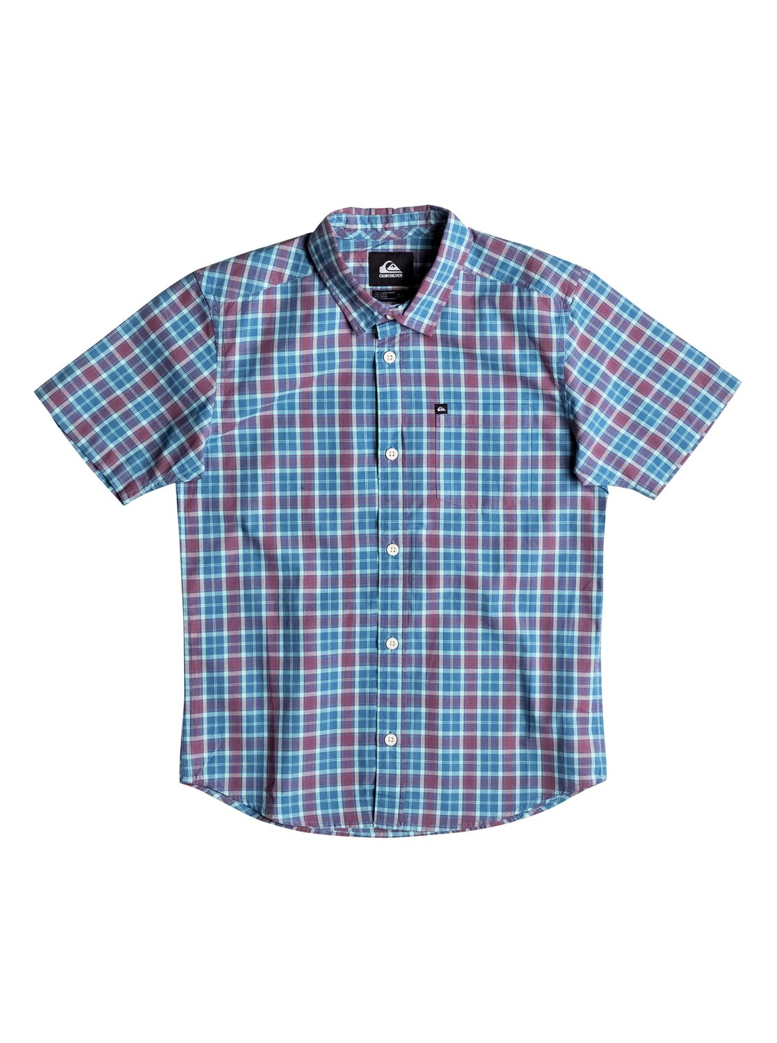 Boy's Everyday Check Short Sleeve Shirt
