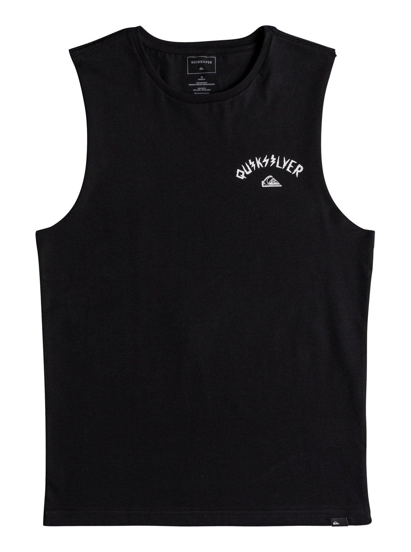 4cf7877b 0 Muscle Walls Of Death - T-Shirt Black EQBZT03688 Quiksilver