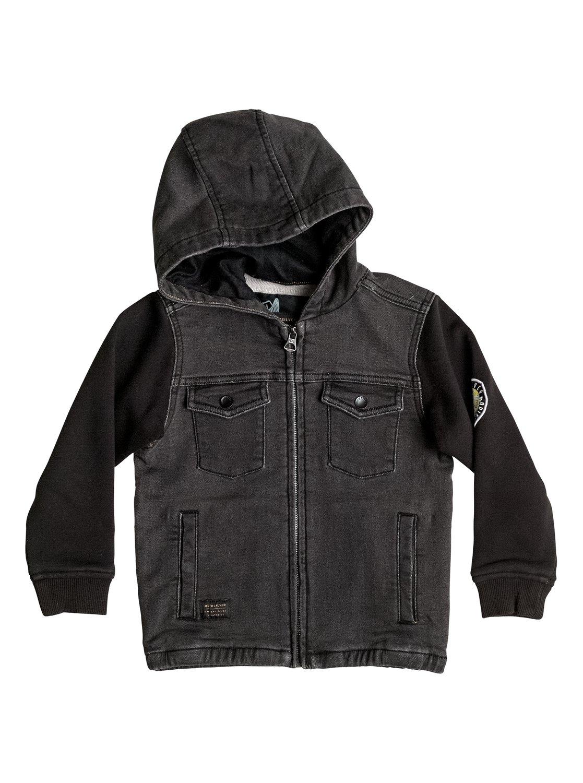 Selfeet - veste en jersey denim pour garçon - quiksilver
