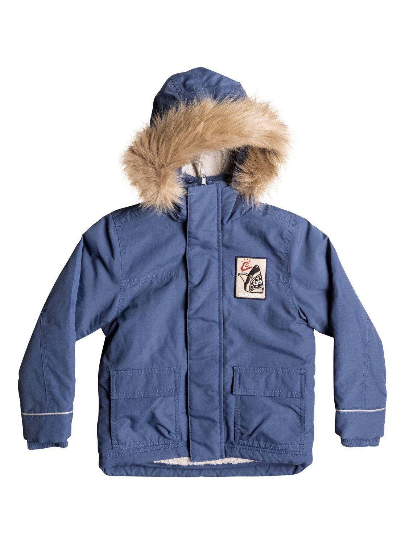 Short Rain - Water-Repellent Parka Jacket EQKJK03079 | Quiksilver