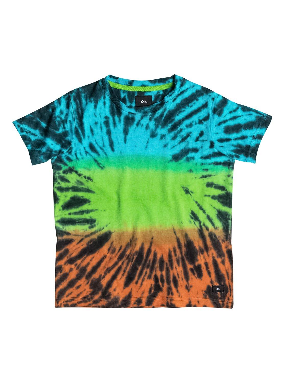 Детская футболка PsychДетская футболка Psych от Quiksilver.ХАРАКТЕРИСТИКИ: округлый вырез, мягкий натуральный трикотаж, изделие прошло смягчающую обработку, флуоресцентный принт.СОСТАВ: 100% хлопок.<br>