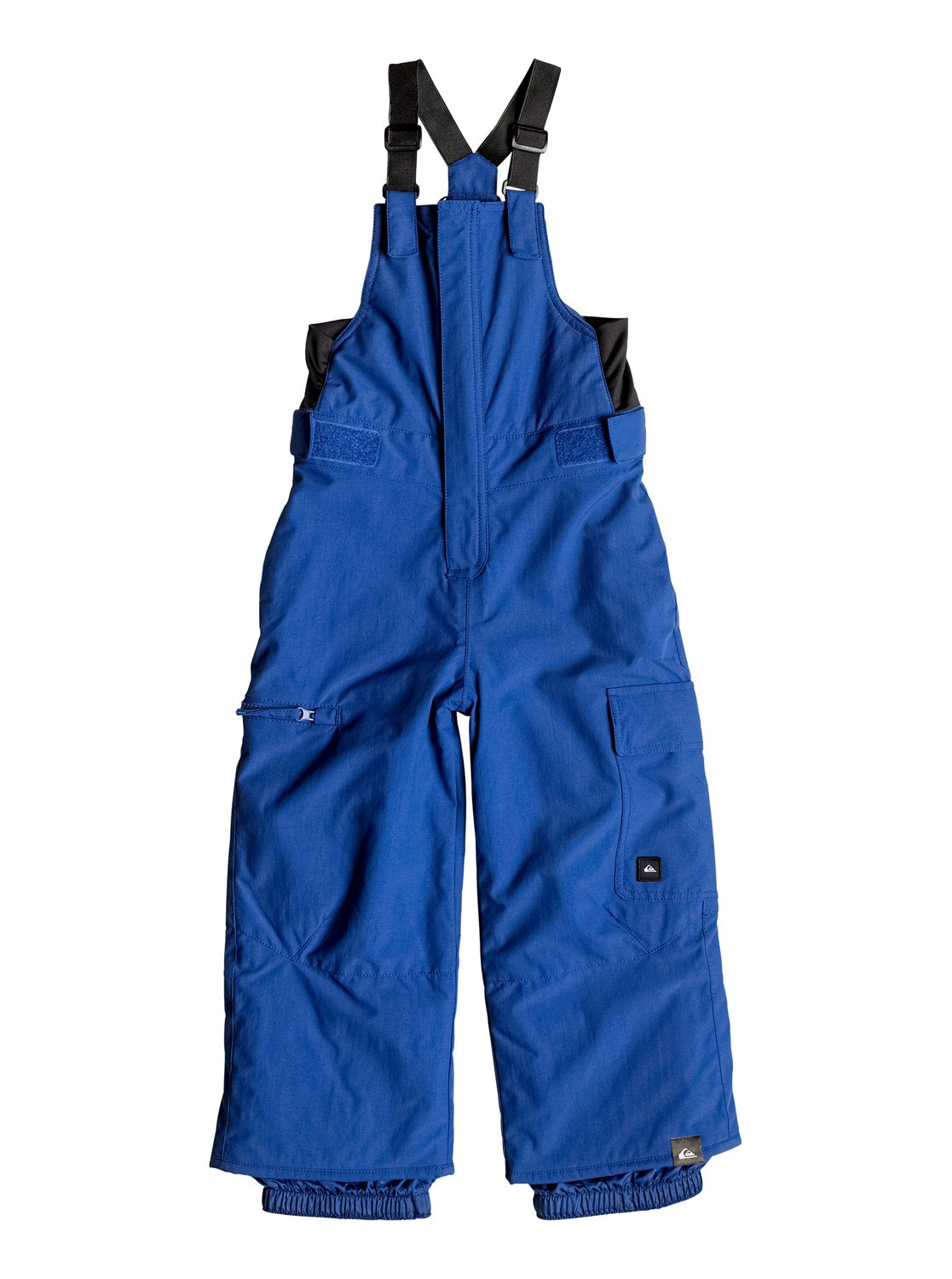 Сноубордические штаны-комбинезон BoogieThe Boogie snow bib pants for boys offer the all-over protection of a jumpsuit but with the freedom of a pair of snow pants, perfect for the new generation of micro shredders. Woven from durable nylon, the shell comes with a high level of waterproofing thanks to the Quiksilver DryFlight® 10K technology. 100g of WarmFlight® keeps it toasty when temperatures drop while the taffeta and brushed tricot lining is warm and soft on the skin. Available with an adjustable grow system, so they might outgrow on the hill, but they wont outgrow this bib pant.<br>