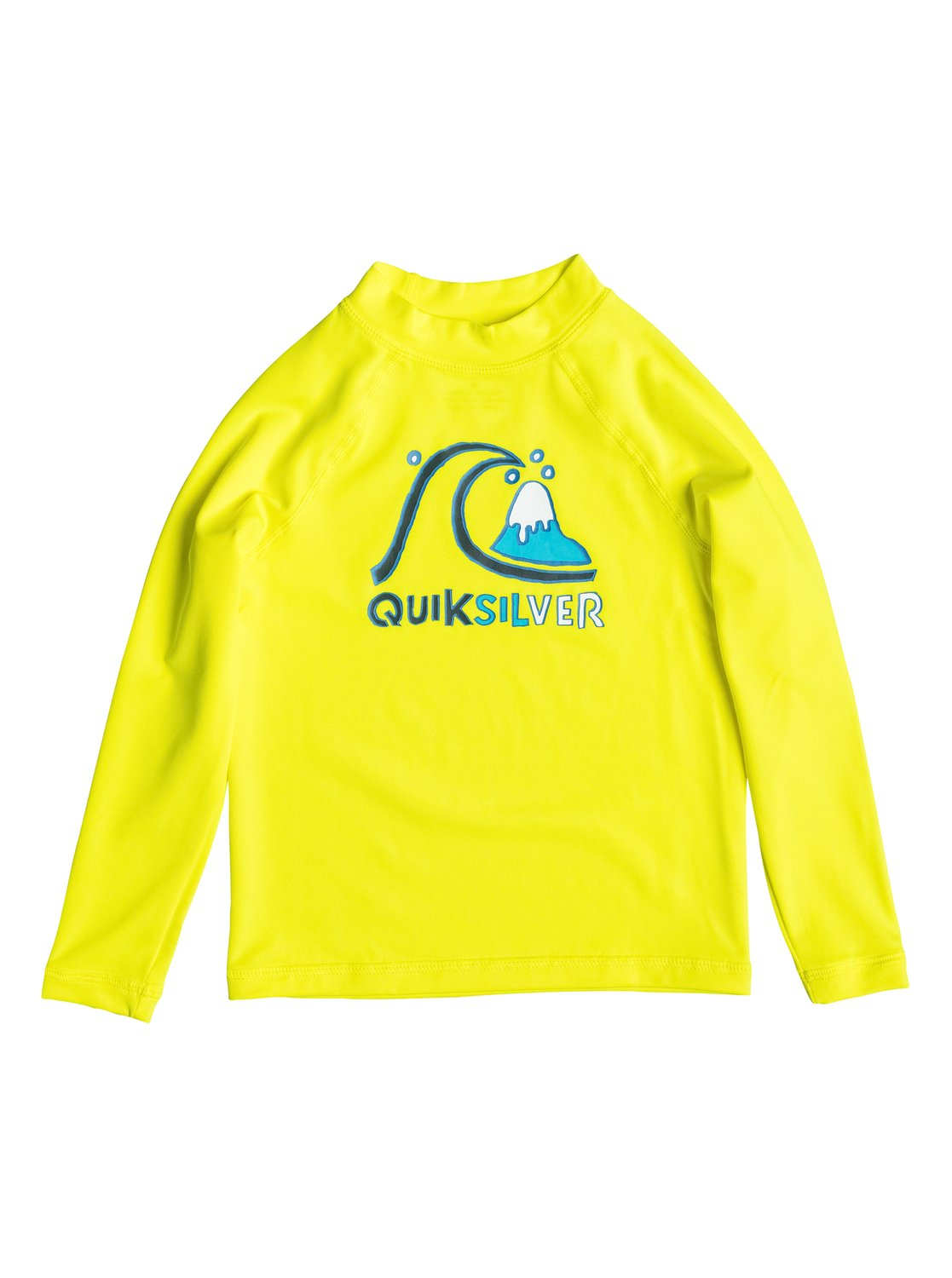 Boy's 2-7 Bubble Long Sleeve Rashguard от Quiksilver RU