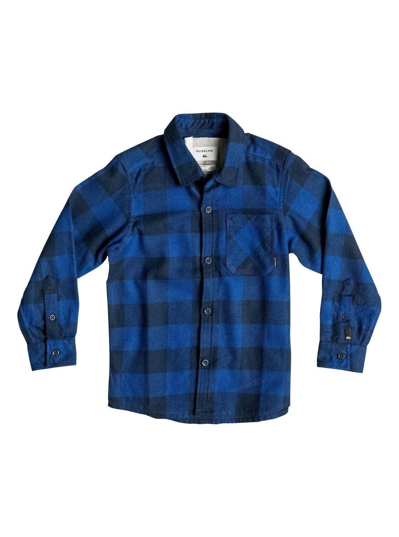Quiksilver Рубашка с длинным рукавом Motherfly Flannel