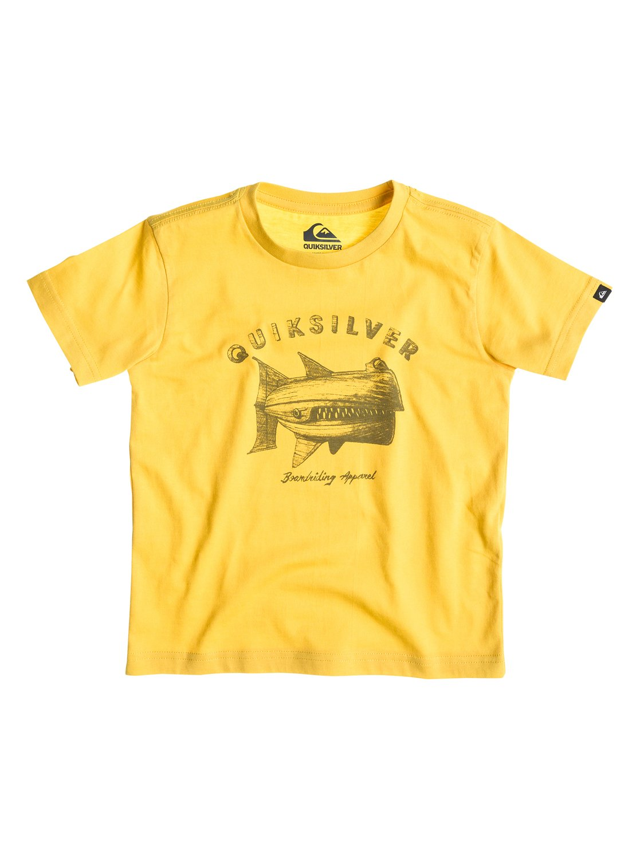 Classic Tee Boy A37 - Quiksilver�������� � �������� ������� ��� ��������� �� Quiksilver � ������� �� ��������� ����� 2015. ��������������: ������ ����������� �������� (160 �/��. �), ����� Quiksilver �� ������.<br>