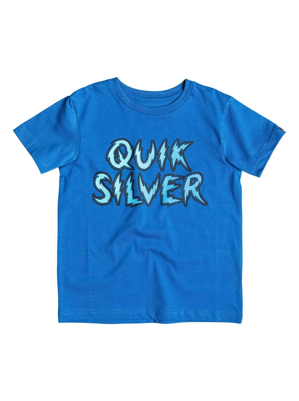 Детская футболка Classic High VoltageДетская футболка Classic High Voltage от Quiksilver.ХАРАКТЕРИСТИКИ: округлый вырез, мягкий натуральный трикотаж, принт спереди, принт с изнанки воротника сзади.СОСТАВ: 100% хлопок.<br>