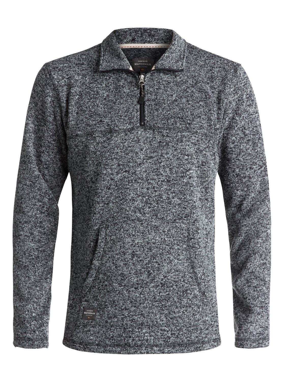 Waterman Mormont - Sweatshirt à zip 3/4 pour Homme - Quiksilver