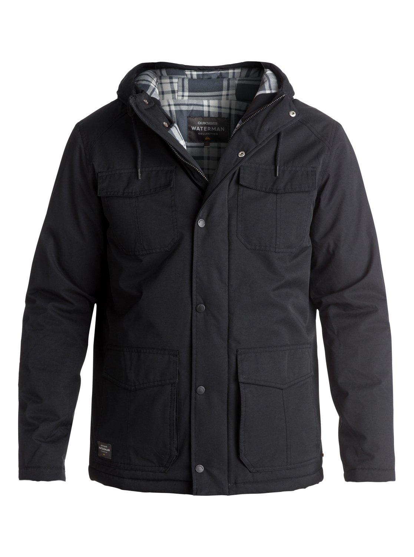 Waterman Weather - Manteau imperméable à capuche pour Homme - Quiksilver