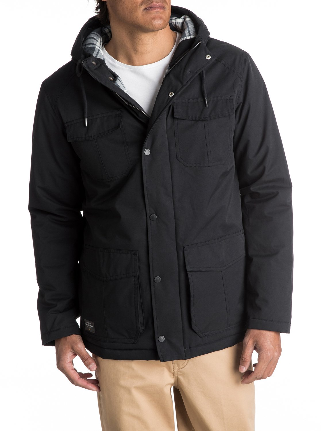 Waterman Weather Waterproof Hooded Jacket EQMJK03005 | Quiksilver