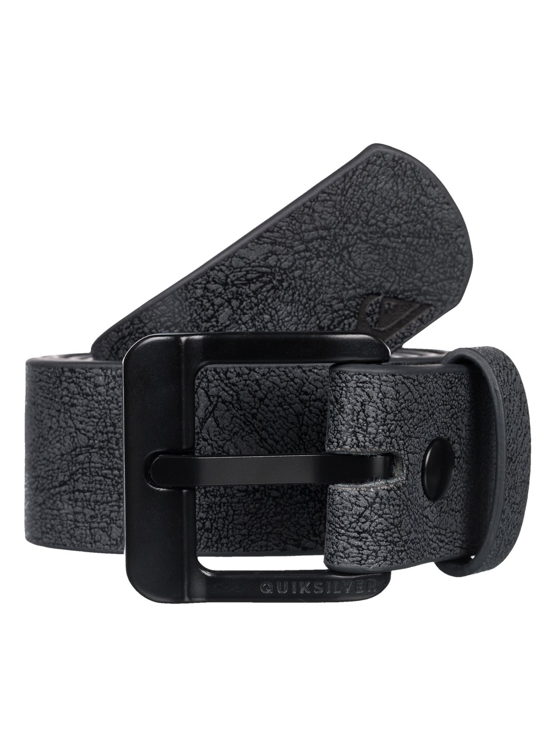 quiksilver faux leather belt faux leather