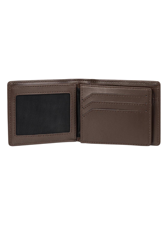 mack portefeuille en cuir 3613371995539 quiksilver. Black Bedroom Furniture Sets. Home Design Ideas