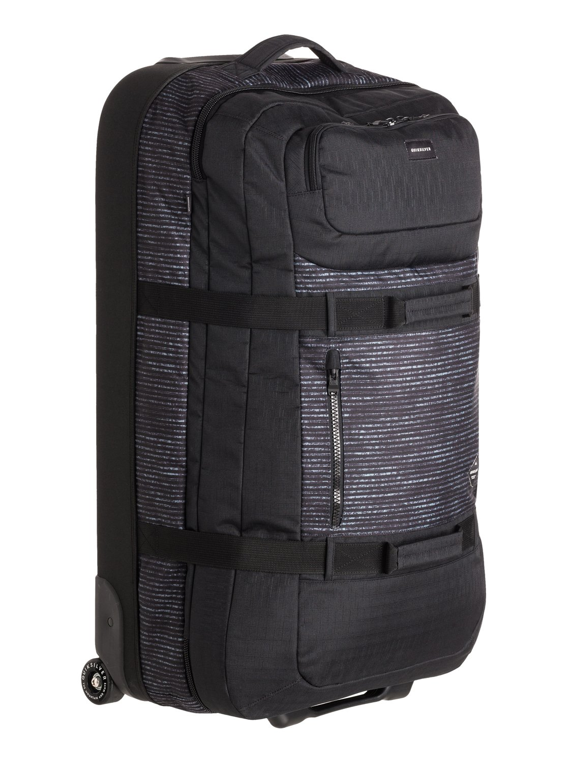 Reach Large Wheeled Suitcase EQYBL03077 | Quiksilver
